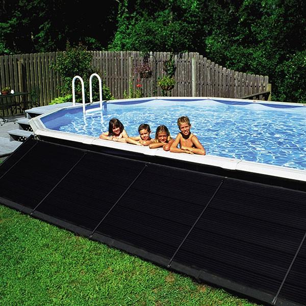 Solarheizung Set 6,00 x 1,20m inkl. Umschaltventil