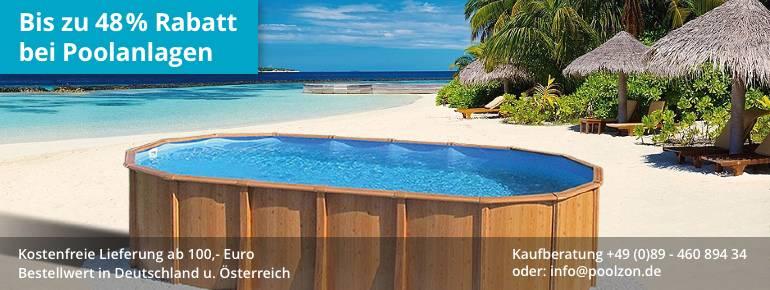Swimmingpool kaufen  Poolzon - Ihr Spezialist für hochwertige Schwimmbecken