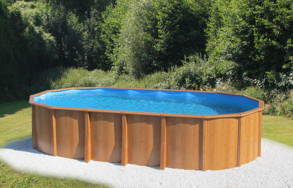 stahlwandpool gigazon woodstyle 7 20 x 3 60 x 1 32m mit 15cm breitem handlauf poolzon. Black Bedroom Furniture Sets. Home Design Ideas