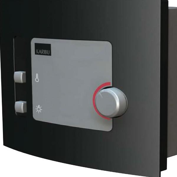 Saunaofen 3,6kW inkl. externer Sauna-Steuerung