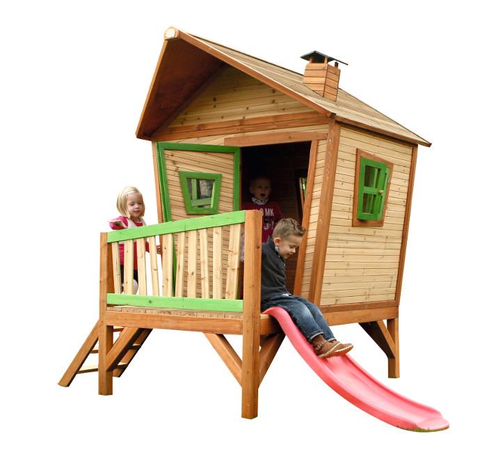 spielhaus iris auf stelzen von axi versandkostenfrei f r 999 88. Black Bedroom Furniture Sets. Home Design Ideas