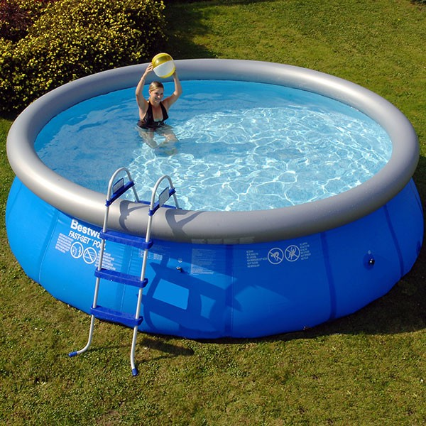 Quick up pool ringpool set 4 57 x 1 07m inkl zubeh r f r for Pool 457x122 mit sandfilteranlage