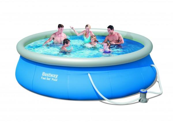 Quick up Pool, Ringpoolset 3,96 x 0,84m inkl. Filteranlage