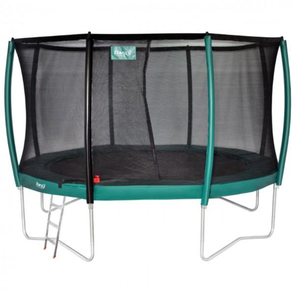Trampolinset Premium Deluxe 2,50 m mit Netz und Leiter