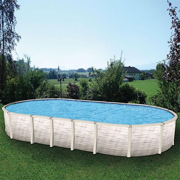 Pool Innenfolie oval 5,40 bis 5,50 x 3,60 x 1,20m