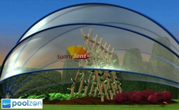 Sunnytent Solar-Poolabdeckung 6,40 x 3,20m
