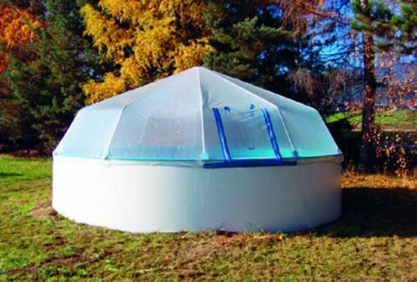 Sonnendom für Gartenpool rund 5,00m