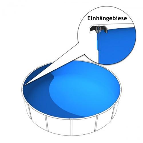 ersatzfolie für rundpool biesenfolie f r pool poolinnenfolie 4 00 x 1 20m in 0 6mm